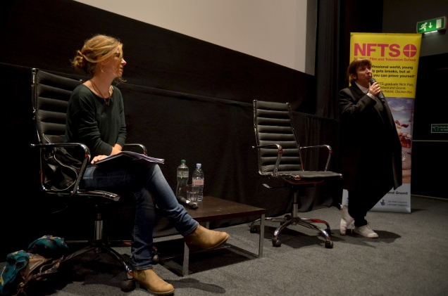 Hosting a Q&A with Screenwriter Abi Morgan