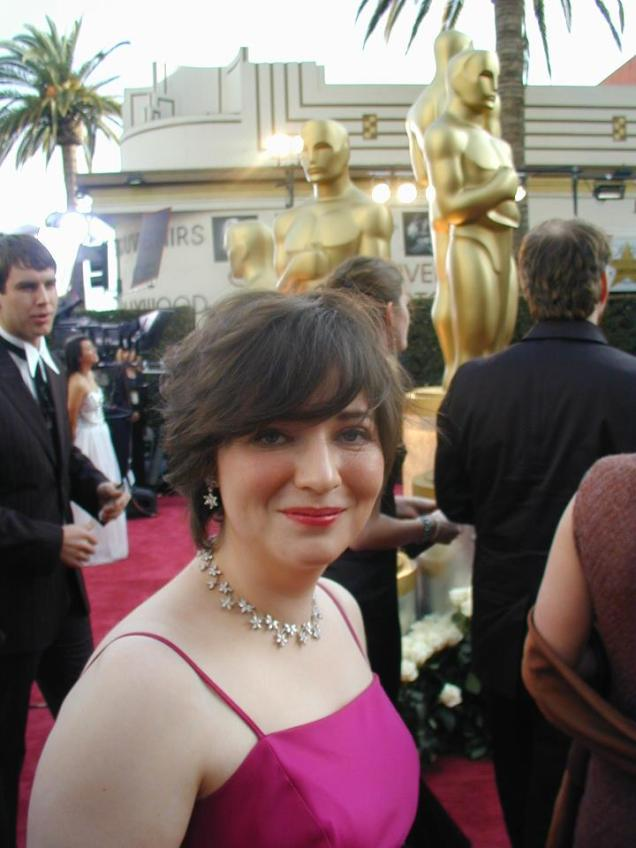 Sharon Colman at the Oscars