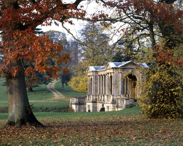 The Palladian Bridge at Stowe Landscape Gardens, Buckinghamshire