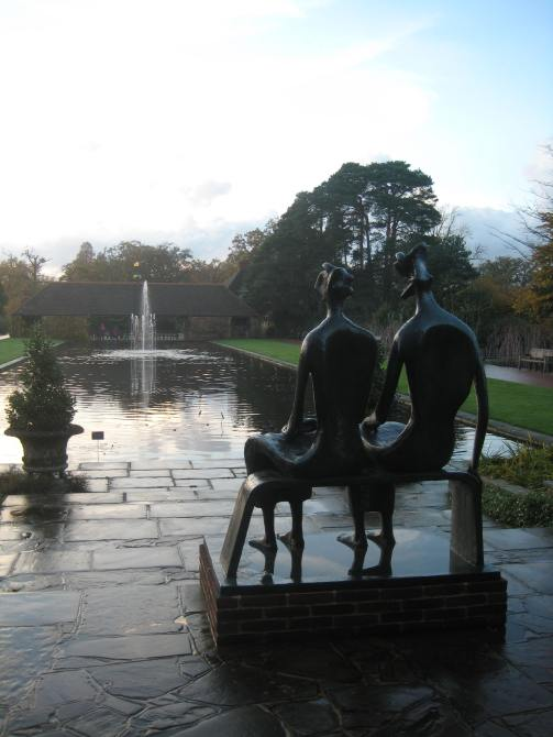 King and Queen at Wisley